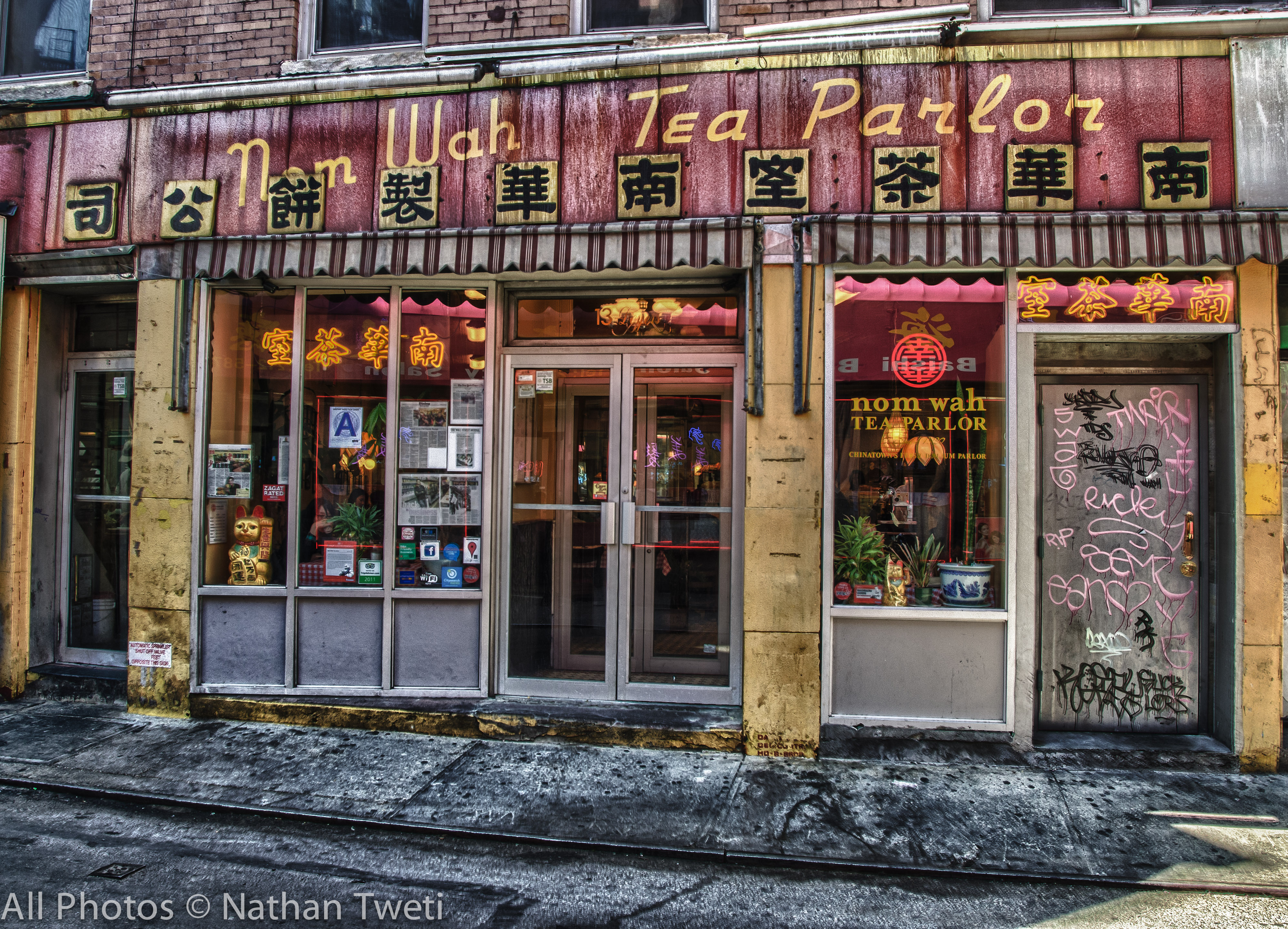 Nom Wah Tea Parlor 004 HDR Chinatown & Little Italy in New York City