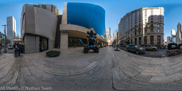 Picasso Sculpture Panorama